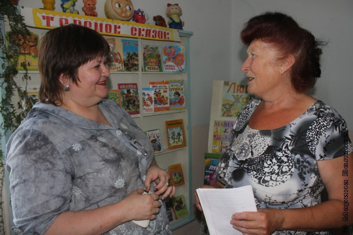 Фания Гатиятовна встречает Елену Сыч
