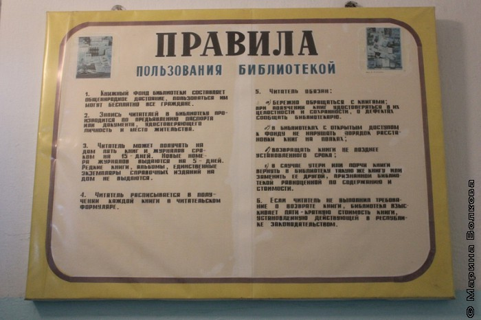 В усть-багарякской библиотеке