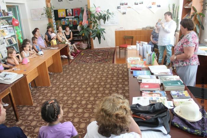 Встреча с Еленой Сыч в библиотеке Усть-Багаряка