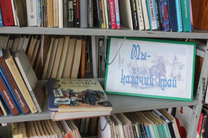 Библиотека в Уйском
