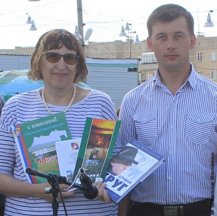 Марина Волкова и Павел Луговских