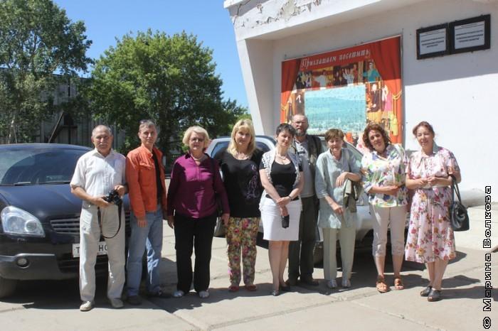 Встреча с читателями Верхнеуральска