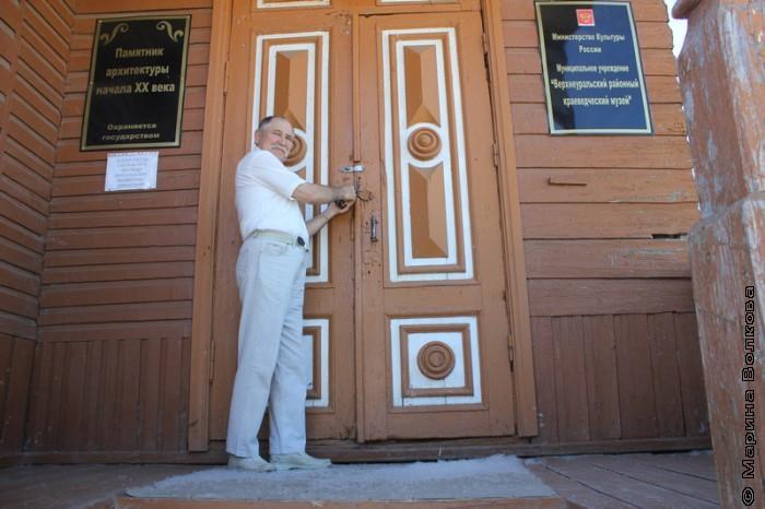 Сергей Кокорин открывает для нас музей Верхнеуральска