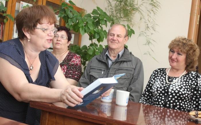 Антонина Берестина читает отрывок из рассказа Сергея Полякова
