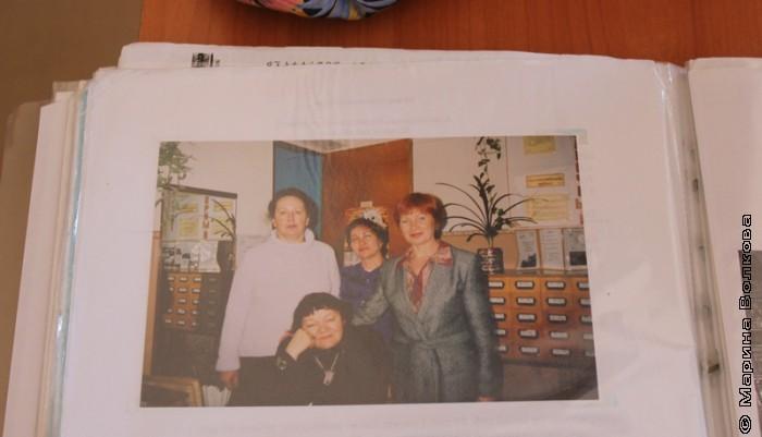 Фото встречи с Риммой Дышаленковой