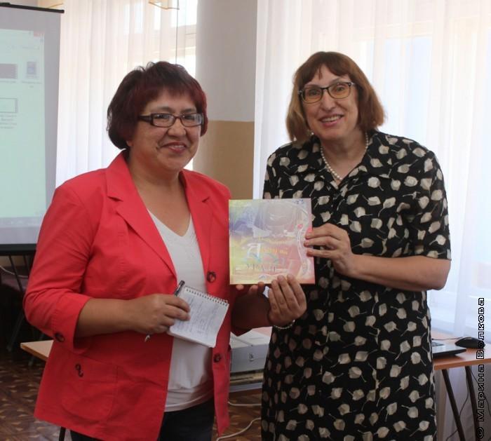 Сания Урдабаева и Марина Волкова