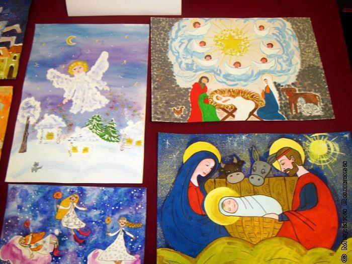 Рисунки конкурса Рождественская сказка-2012