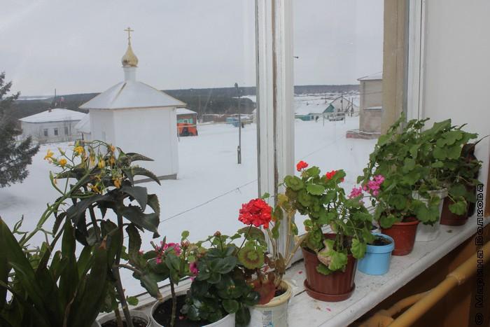 Вид из окна Дома культуры