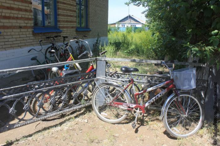 Велосипед - главный вид транспорта в Париже