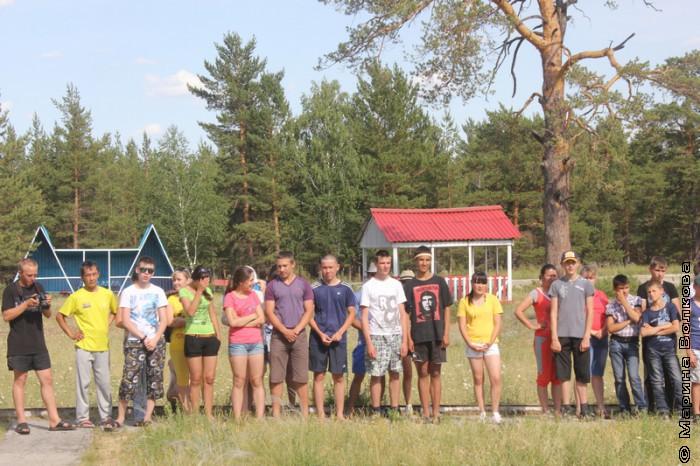 Открытие сезона в оздоровительном лагере
