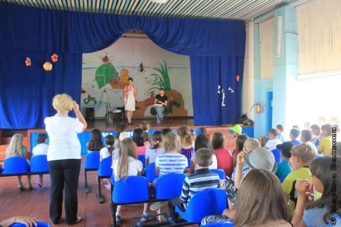 Читательский марафон в оздоровительном лагере
