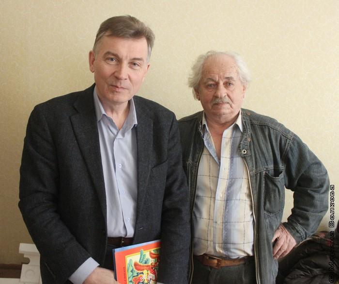 Анатолий Гилев (справа) с Александром Кузнецовым