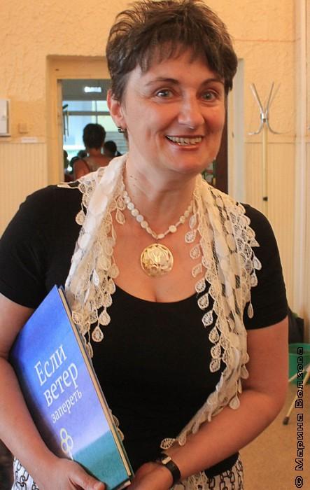Ирина Аргутина после марафона