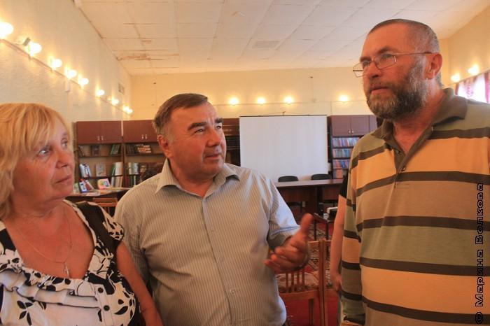 В центре - Геннадий Иванович Пташко, заместитель председателя Собрания депутатов Пластовского муниципального района.