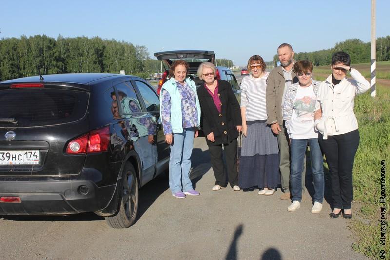 Экипаж первого литературного автопробега