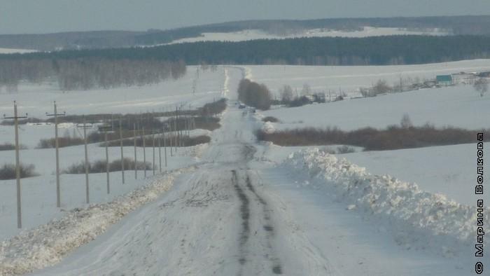 Мое село на снежном ковре 2013 г.