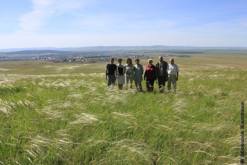 Экипаж первого литературного автопробега Я живу на Урале в степях юга области