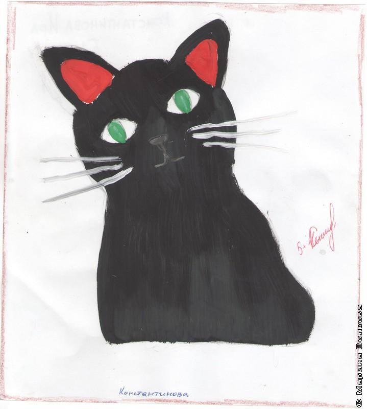 Карен Даллакян с черными котами