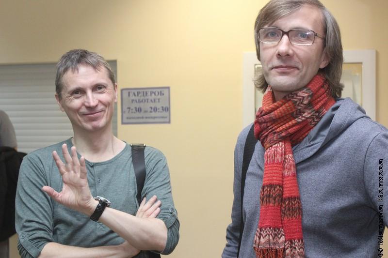 Михаил Придворов и Янис Грантс