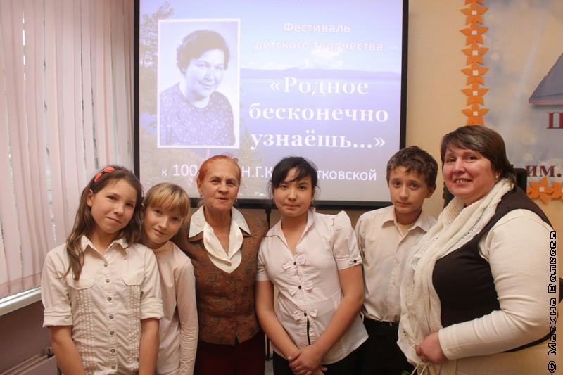 Юбилей Нины Кондратковской