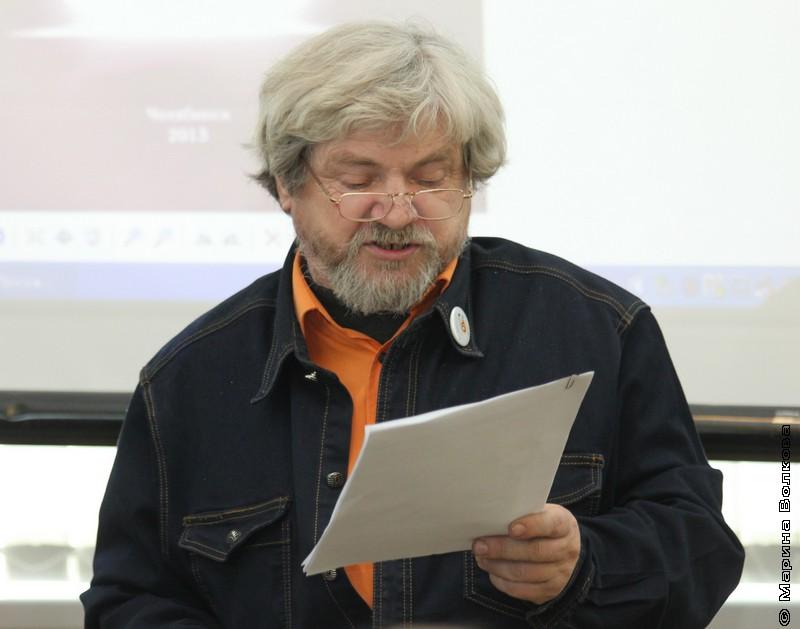 Олег Павлов, руководитель Светунца и председатель регионального отделения Союза писателей РФ