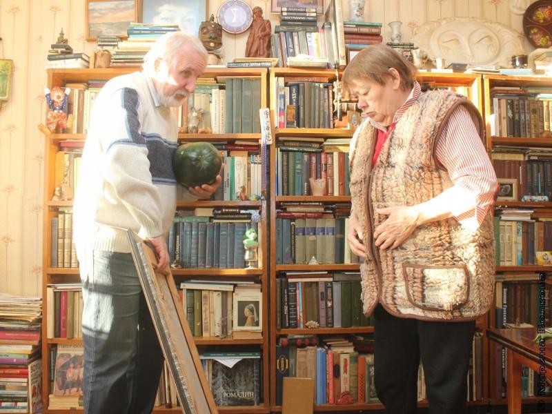 Владлен Феркель и Римма Дышаленкова