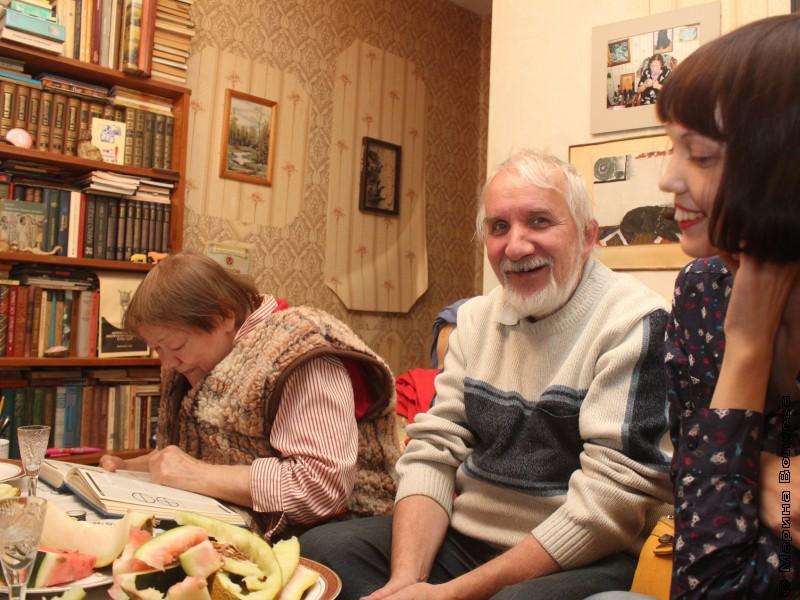 Римма Дышаленкова, Влад Феркель и Лена Меньшинина