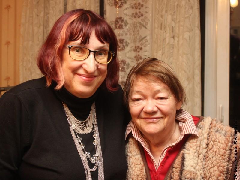Марина Волкова и Римма Дышаленкова