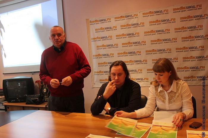 Борис Киршин, Василий Федоров и Елена Селянина