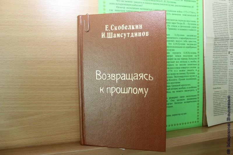 Троицкая библиотека о Пугачеве