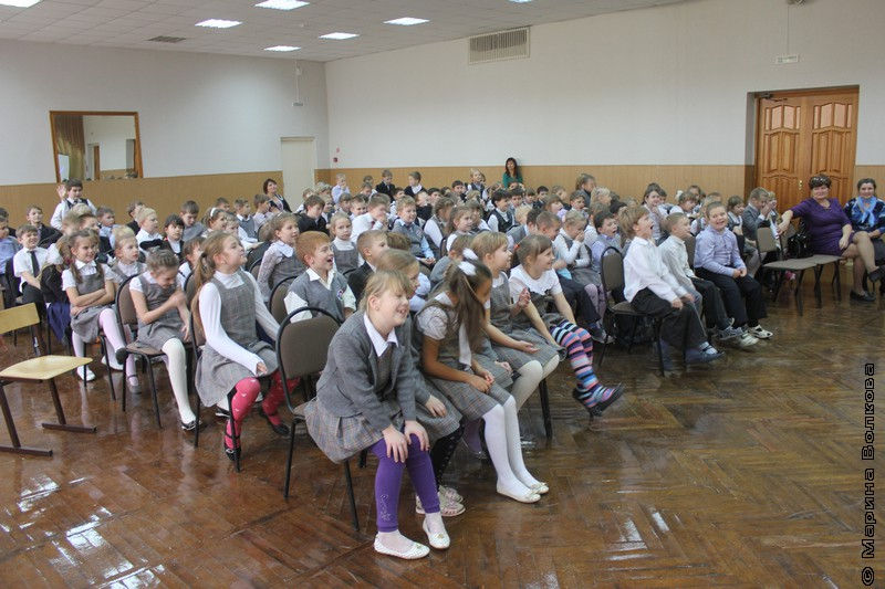 Читательский марафон в школе № 47 Тольятти