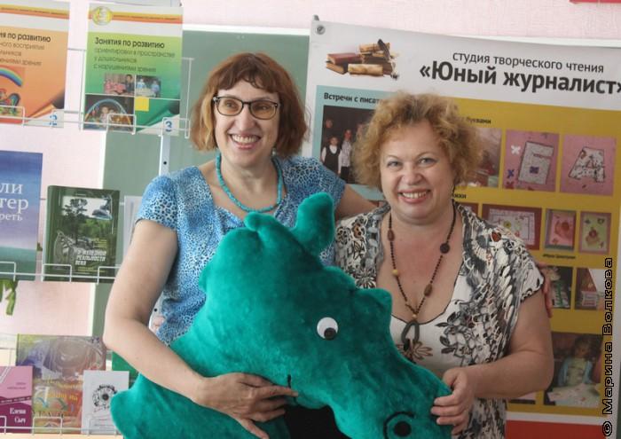 Марина Волкова и Нина Барсукова