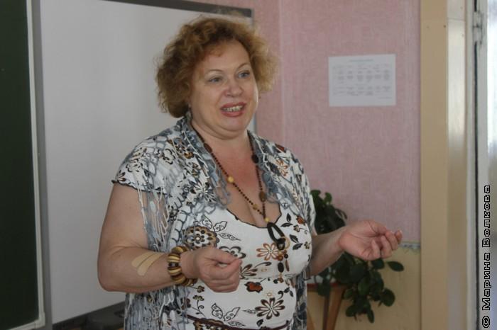 Семинар для школьных библиотекарей, Нина Барсукова