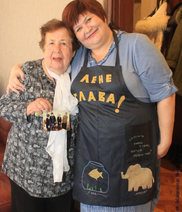 Старый новый год. Надежда Капитонова и Елена Сыч