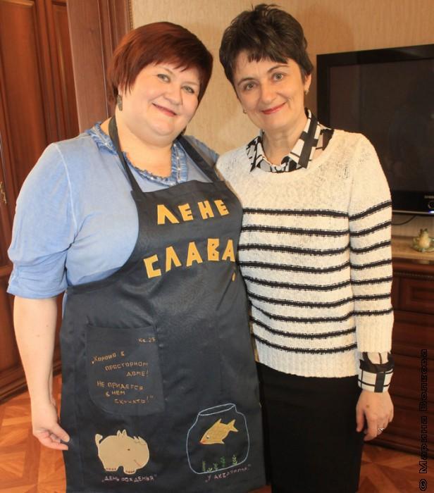 Елена Сыч и Ирина Аргутина