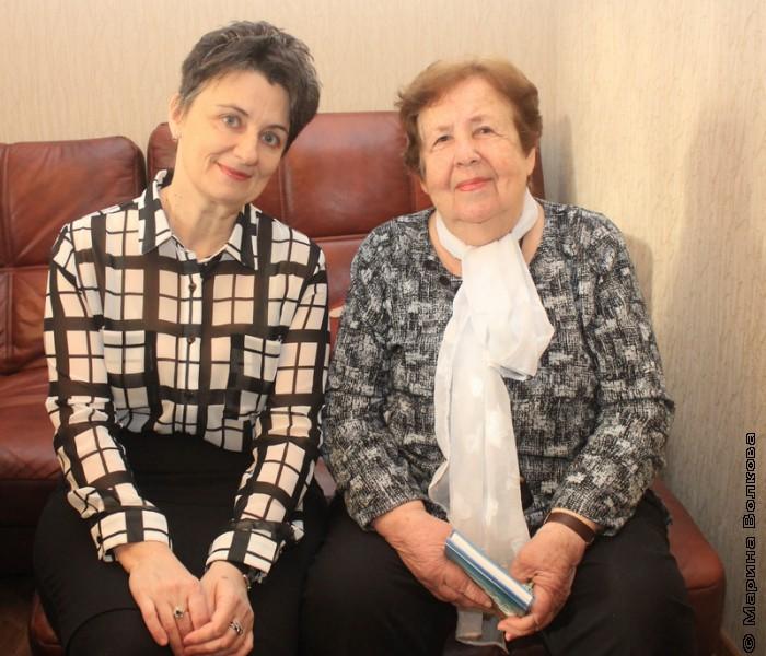 Ирина Аргутина и Надежда Капитонова