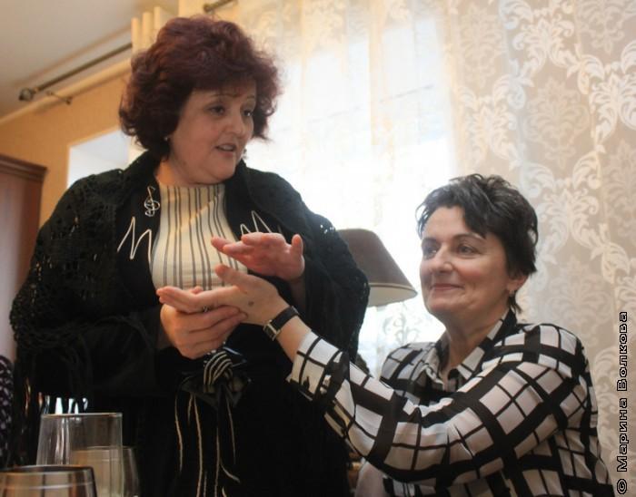 Елена Раннева и Ирина Аргутина
