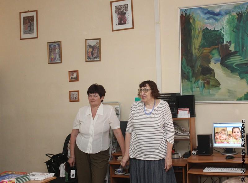 Валентина Тарасенко  и Марина Волкова, Елена Раннева, Читательский марафон в Тольятти