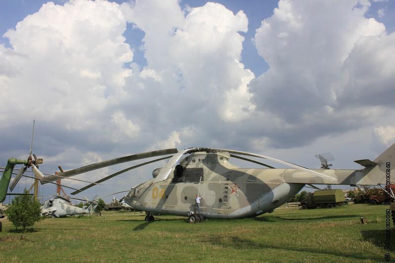 Константин Небогатов на вертолете
