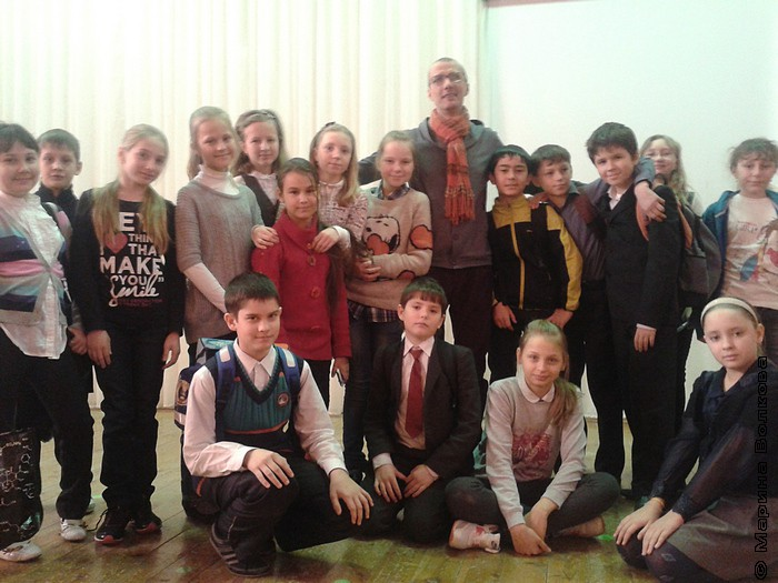 Янис Грантс и школьники 129-ой