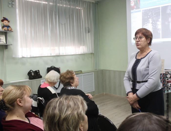 Валентина Солодкова открывает установочное совещание