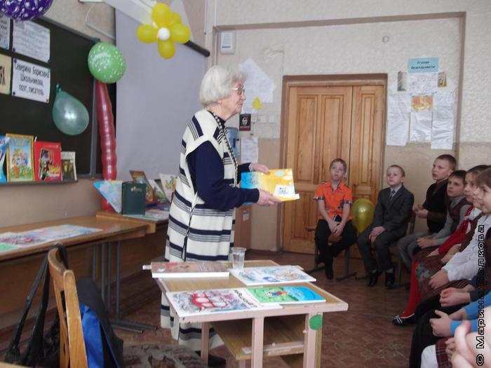 Северина Школьниква в 86-ой школе
