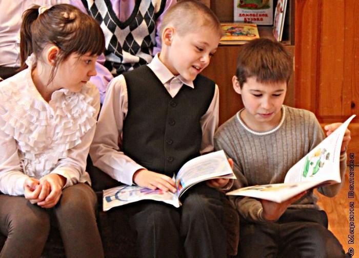 Год челябинской детской литературы в 96 школе