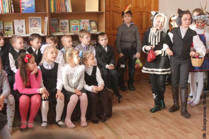 """Базар"" Василия Кузнецова в 96-ой гимназии"