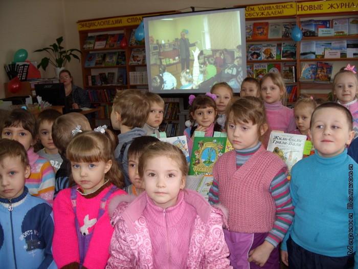 в гостях у детской библиотеки №9 имени Н.П. Шилова