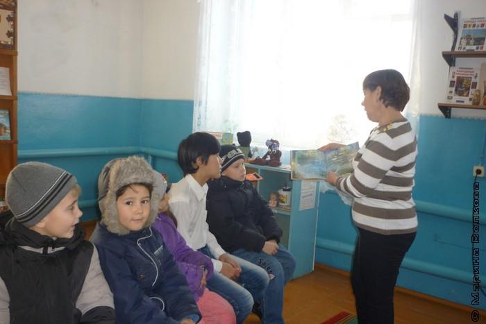 Читательская эстафета в Еткульском районе
