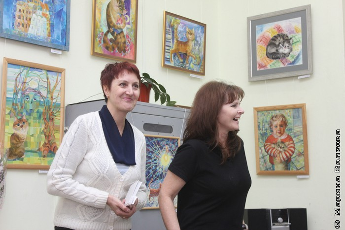 Елена Новикова и Ирина Мехоношина