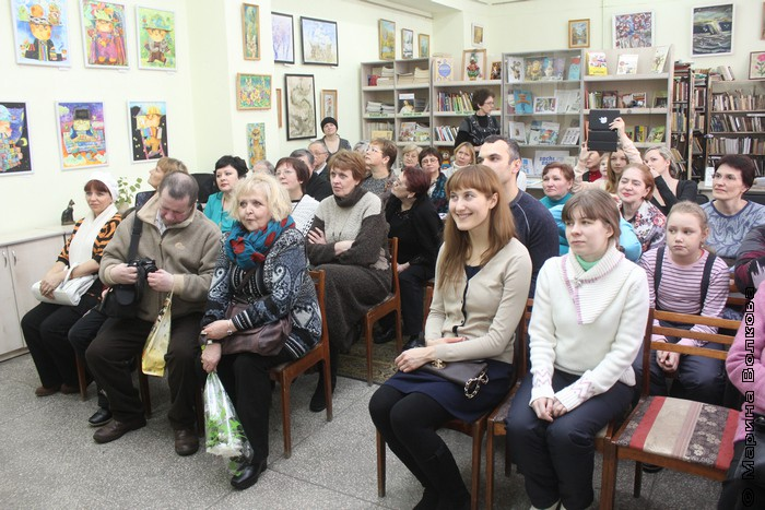 Открытие выставки Кошкин дом