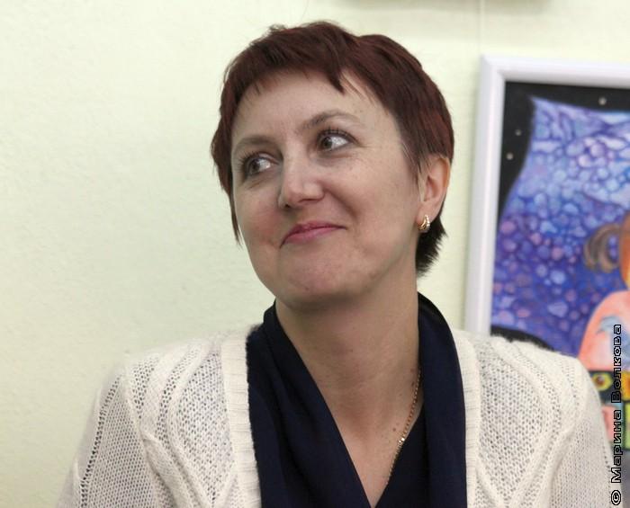 Елена Новикова, организатор выставки