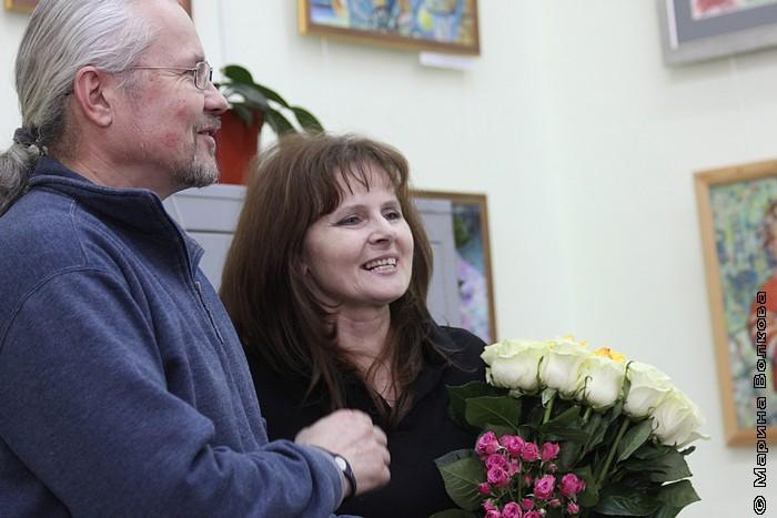 Художник Ирина Мехоношина с мужем